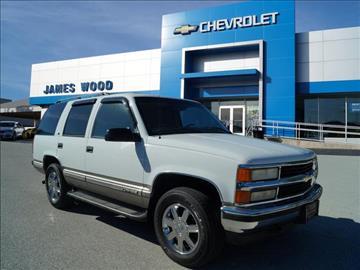 1999 Chevrolet Tahoe For Sale Carsforsale Com