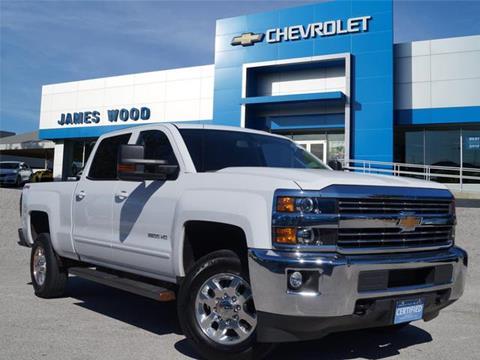 2015 Chevrolet Silverado 2500HD for sale in Denton, TX