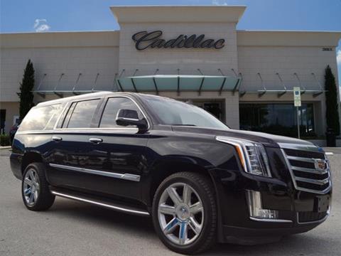 2016 Cadillac Escalade ESV for sale in Denton, TX