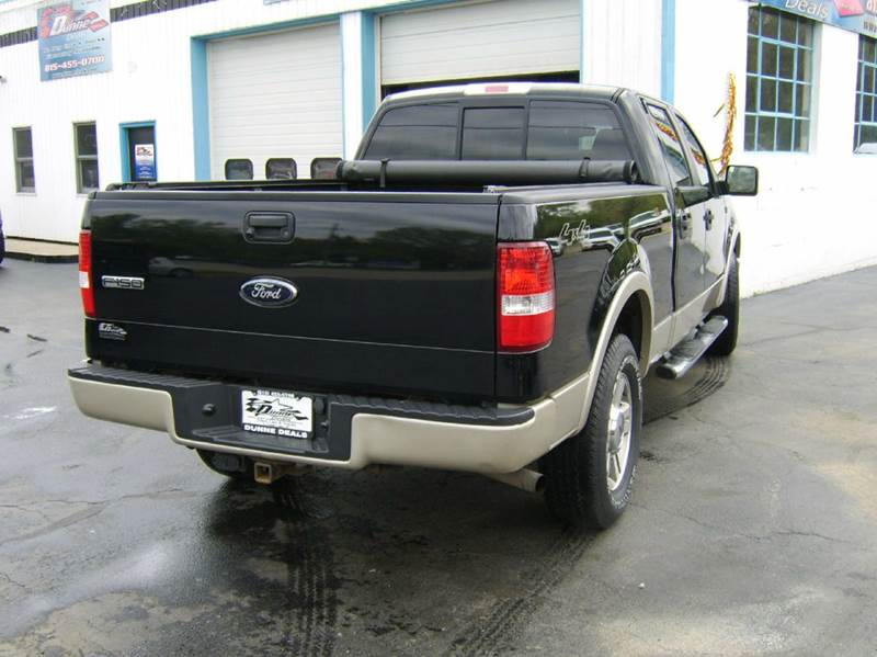 2008 Ford F-150 4x4 Lariat 4dr SuperCrew Styleside 6.5 ft. SB - Crystal Lake IL