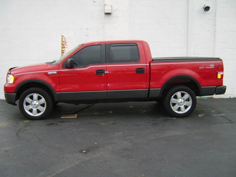 2006 ford f 150 fx4 4dr supercrew 4wd styleside 5 5 ft sb in crystal lake il dunne deals. Black Bedroom Furniture Sets. Home Design Ideas