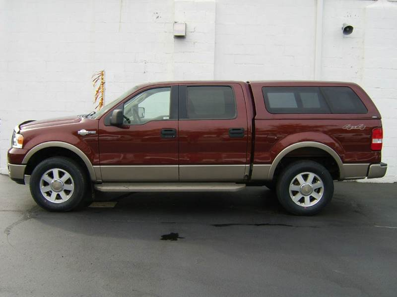 2005 ford f 150 king ranch 4dr supercrew 4wd styleside 5 5 ft sb in crystal lake il dunne deals. Black Bedroom Furniture Sets. Home Design Ideas