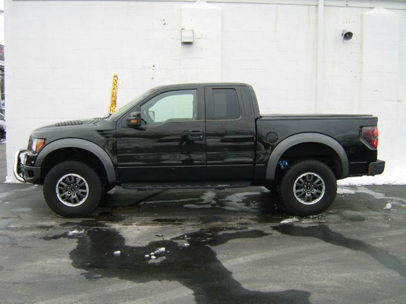 2010 Ford F-150 4x4 SVT Raptor 4dr SuperCab Styleside 5.5 ft. SB - Crystal Lake IL
