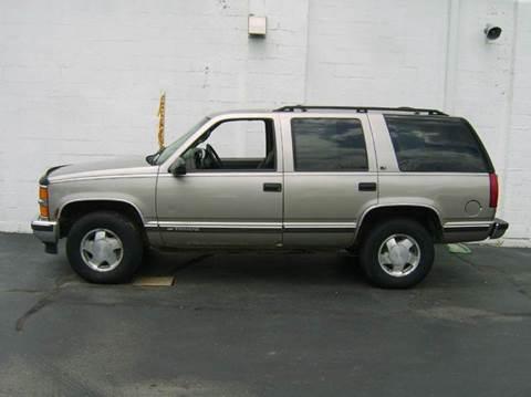 1999 Chevrolet Tahoe For Sale Illinois - Carsforsale.com