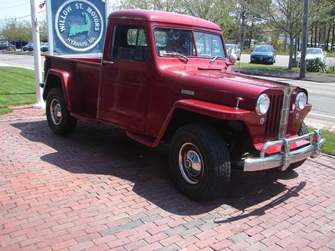 1949 Willys Jeep for sale in Hyannis, MA