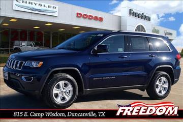 2017 Jeep Grand Cherokee for sale in Duncanville, TX