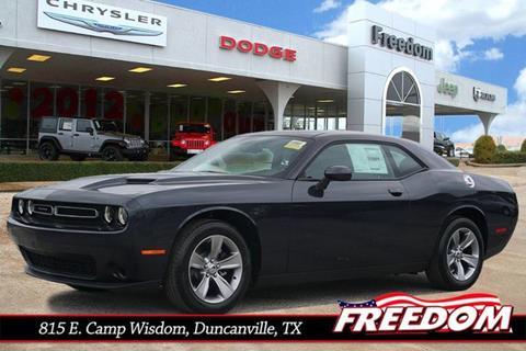 2017 Dodge Challenger for sale in Duncanville, TX