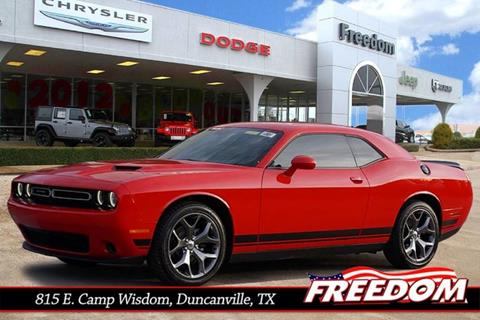 2017 Dodge Challenger for sale in Duncanville, TX