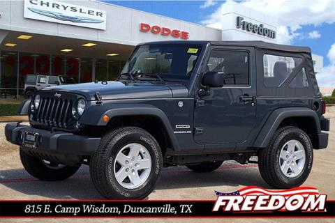 2017 Jeep Wrangler for sale in Duncanville, TX