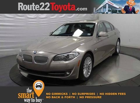 2012 BMW 5 Series for sale in Hillside, NJ