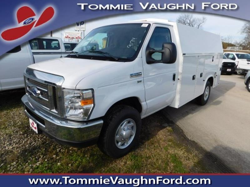 2018 ford e series chassis e 350 in houston tx tommie vaugn ford. Black Bedroom Furniture Sets. Home Design Ideas