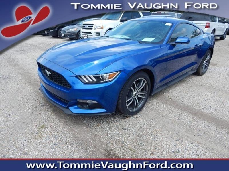 2017 ford mustang ecoboost fastback in houston tx tommie vaugn ford. Black Bedroom Furniture Sets. Home Design Ideas