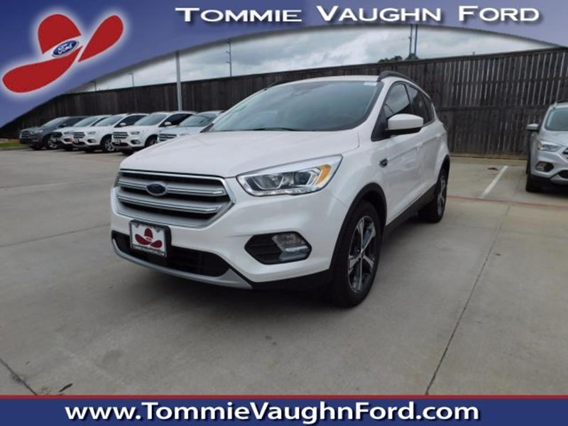 2018 ford escape sel 4dr suv in houston tx tommie vaugn ford. Black Bedroom Furniture Sets. Home Design Ideas