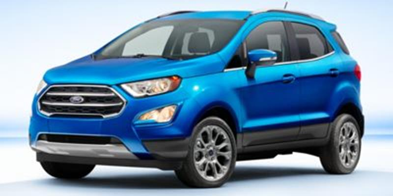 2018 ford ecosport titanium 4dr crossover in houston tx tommie vaugn ford. Black Bedroom Furniture Sets. Home Design Ideas