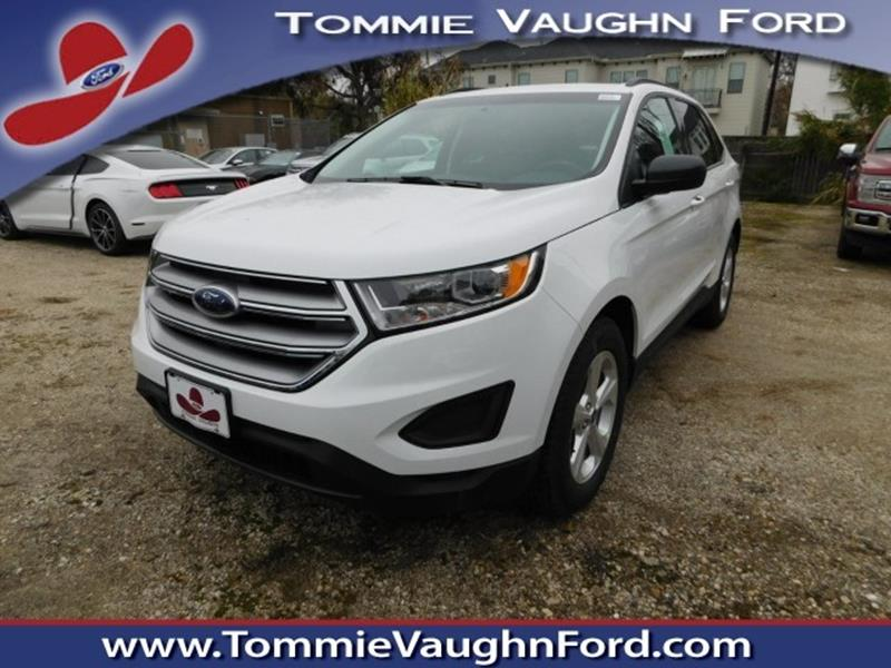 2018 ford edge se 4dr crossover in houston tx tommie vaugn ford. Black Bedroom Furniture Sets. Home Design Ideas