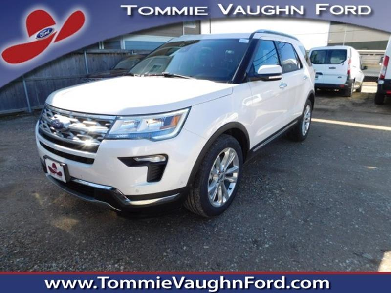 2018 ford explorer limited 4dr suv in houston tx tommie vaugn ford. Black Bedroom Furniture Sets. Home Design Ideas