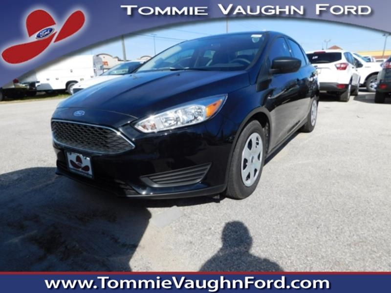 2018 ford focus s 4dr sedan in houston tx tommie vaugn ford. Black Bedroom Furniture Sets. Home Design Ideas