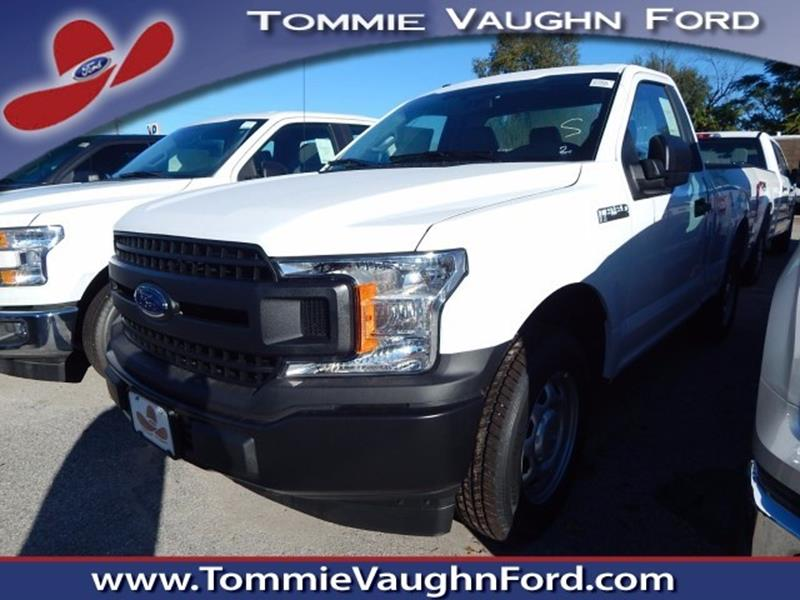 2018 ford f 150 2wd regular cab box in houston tx tommie vaugn ford. Black Bedroom Furniture Sets. Home Design Ideas