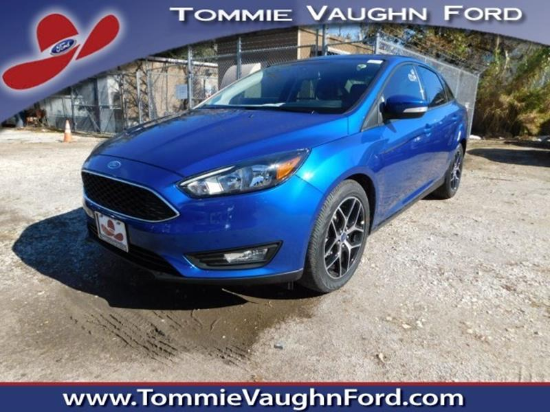 2018 ford focus sel 4dr sedan in houston tx tommie vaugn ford. Black Bedroom Furniture Sets. Home Design Ideas
