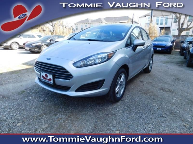 2017 ford fiesta se 4dr hatchback in houston tx tommie vaugn ford. Black Bedroom Furniture Sets. Home Design Ideas