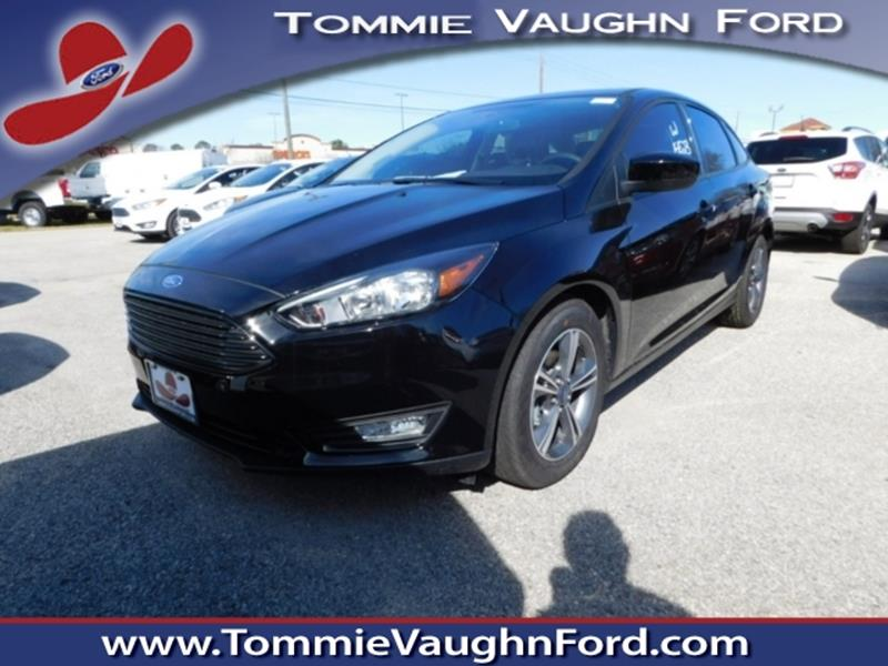 2018 ford focus se 4dr sedan in houston tx tommie vaugn ford. Black Bedroom Furniture Sets. Home Design Ideas