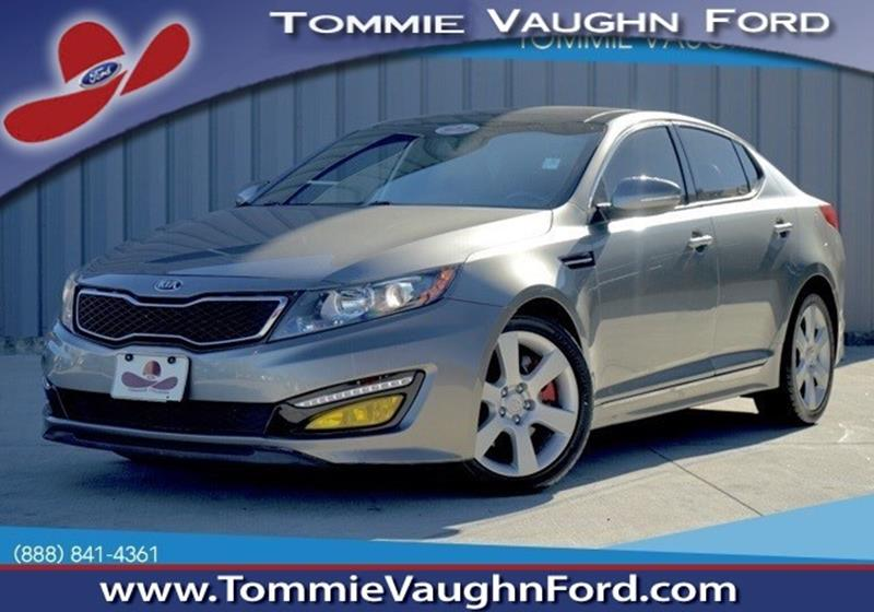 2013 kia optima sedan sx in houston tx tommie vaugn ford. Black Bedroom Furniture Sets. Home Design Ideas