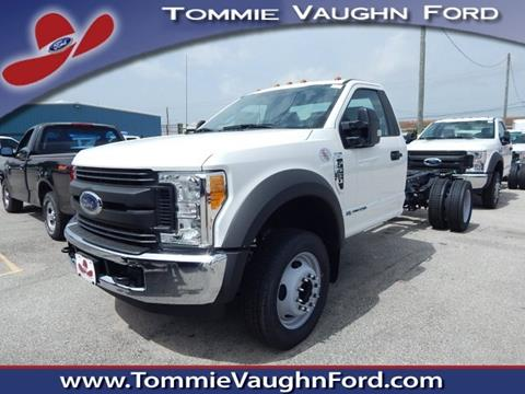 2017 Ford F-550 for sale in Houston, TX