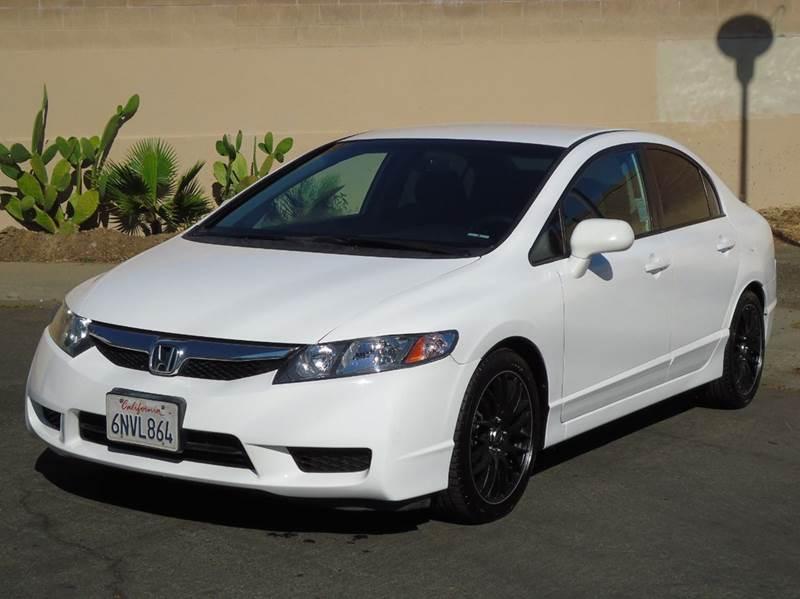 2011 Honda Civic LX S 4dr Sedan 5A   Sacramento CA
