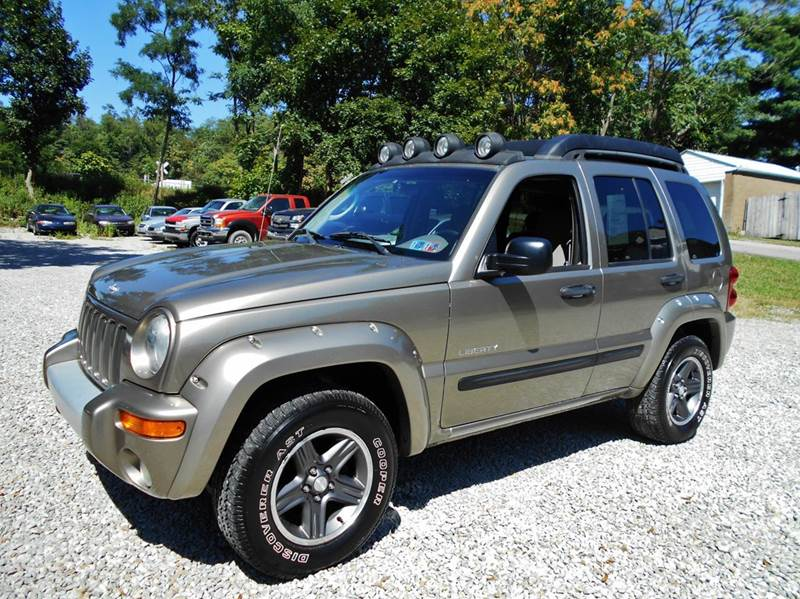 2004 jeep liberty renegade 4wd 4dr suv washington pa. Black Bedroom Furniture Sets. Home Design Ideas