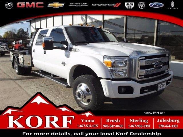 2014 ford f 450 super duty 4x4 xlt 4dr crew cab 8 ft lb drw pickup in brush co korf. Black Bedroom Furniture Sets. Home Design Ideas