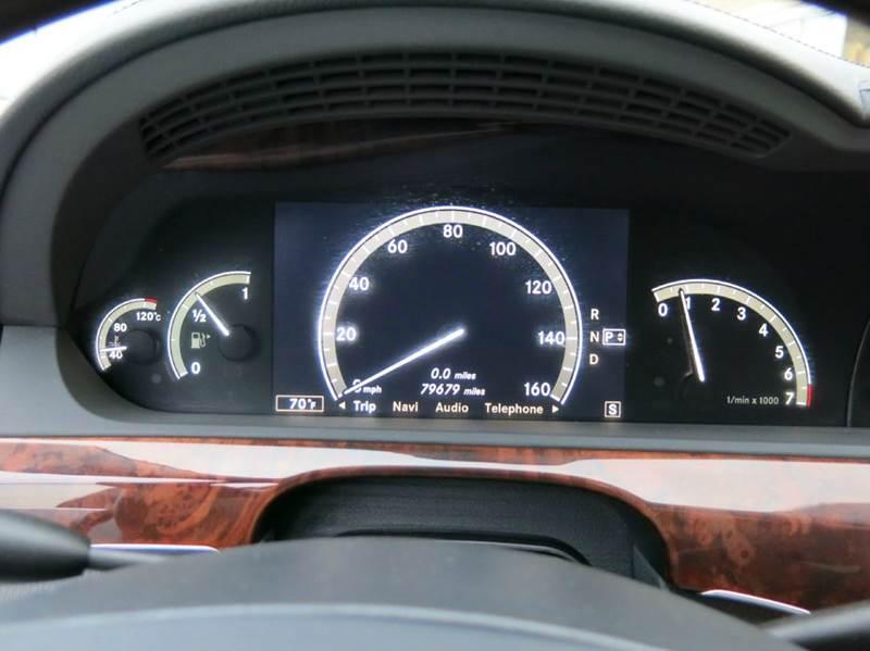 2007 Mercedes-Benz S-Class S 550 4dr Sedan - Buxton Plaza IN