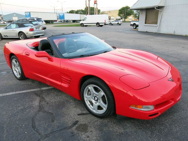 1999 Chevrolet Corvette 2dr Convertible - Buxton Plaza IN