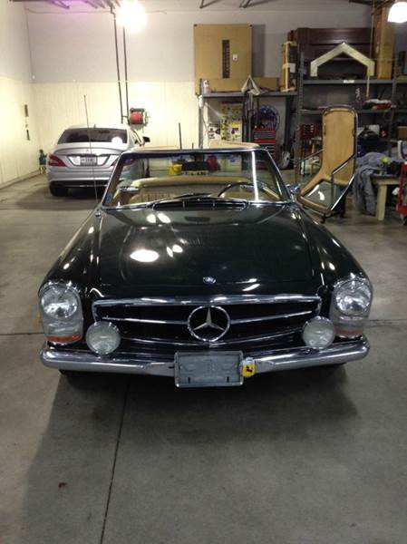 1968 Mercedes-Benz 280-Class W113 convertible - Buxton Plaza IN