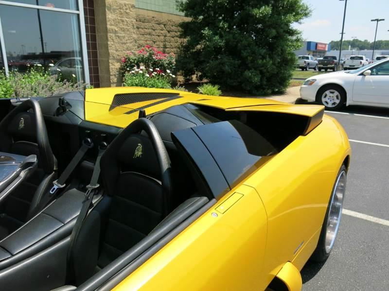 2006 Lamborghini Murcielago Base AWD 2dr Convertible - Buxton Plaza IN