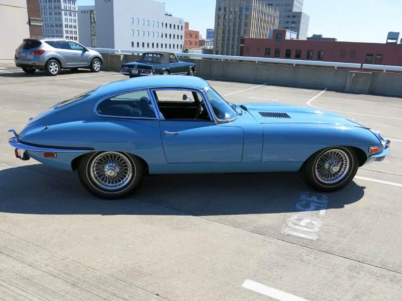 1969 Jaguar E-Type XKE 4.2L Series II Coupe  - Buxton Plaza IN
