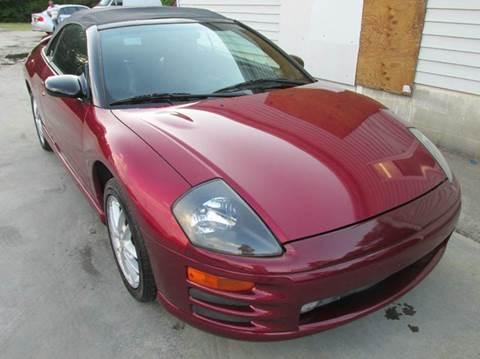 2001 Mitsubishi Eclipse Spyder for sale in Sanford, NC