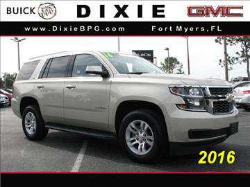 2016 Chevrolet Tahoe for sale in Fort Myers, FL