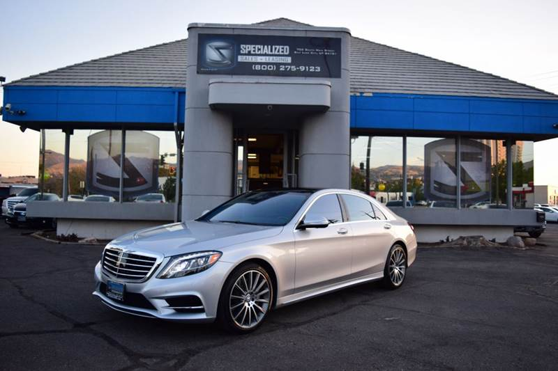 2016 mercedes benz s class s550 4matic awd 4dr sedan in for Mercedes benz utah