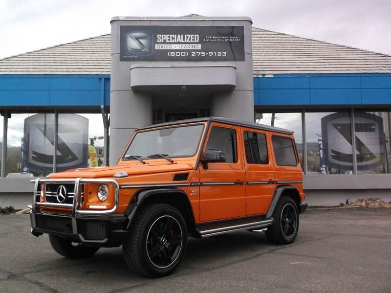 2016 mercedes benz g class g63 amg awd 4matic 4dr suv in for Mercedes benz utah
