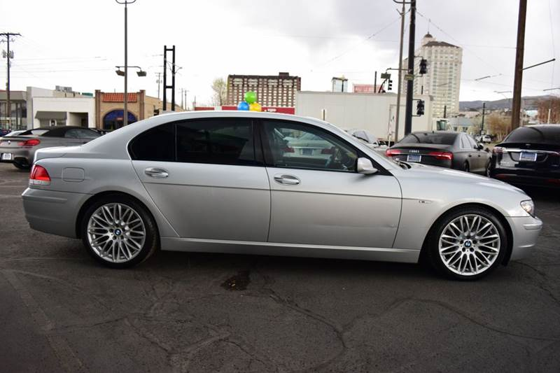 2008 Bmw 7 Series 750Li 4dr Sedan In Salt Lake City UT