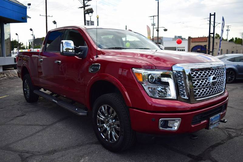2016 nissan titan xd platinum reserve 4x4 4dr crew cab pickup diesel in salt lake city ut. Black Bedroom Furniture Sets. Home Design Ideas