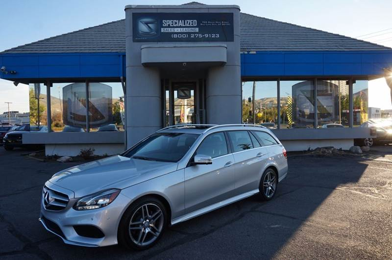 2015 mercedes benz e class e350 4matic awd 4dr wagon in for Mercedes benz utah