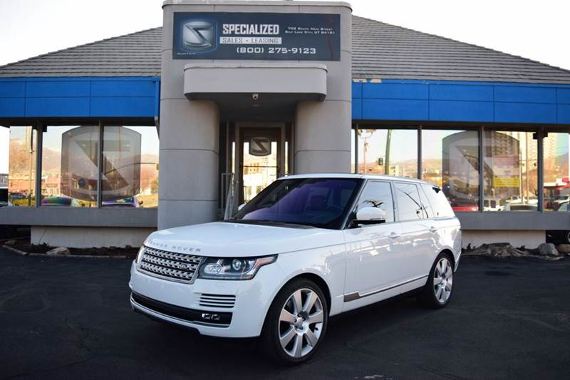 2016 Land Rover Range Rover Supercharged AWD 4dr SUV - Salt Lake City UT