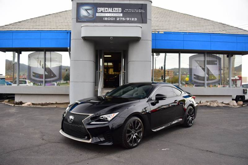 2016 Lexus RC F Base 2dr Coupe   Salt Lake City UT