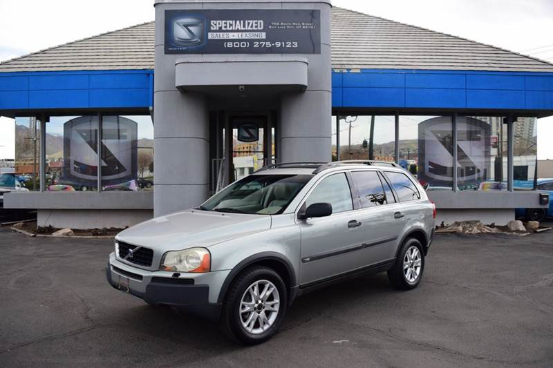 2004 volvo xc90 t6 awd 4dr turbo suv in salt lake city ut specialized sales leasing. Black Bedroom Furniture Sets. Home Design Ideas