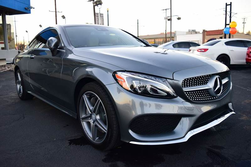 2017 mercedes benz c class c300 4matic awd 2dr coupe in salt lake city ut specialized sales. Black Bedroom Furniture Sets. Home Design Ideas
