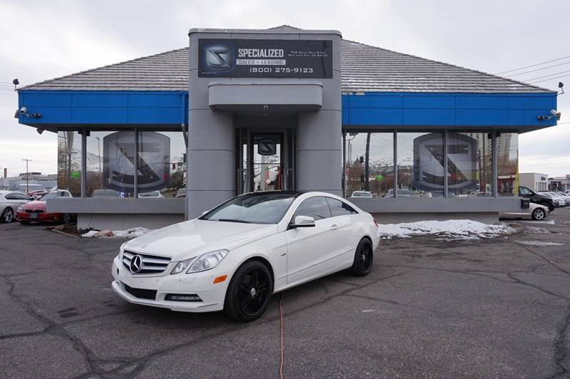 2012 MercedesBenz EClass E350 2dr Coupe In Salt Lake City UT