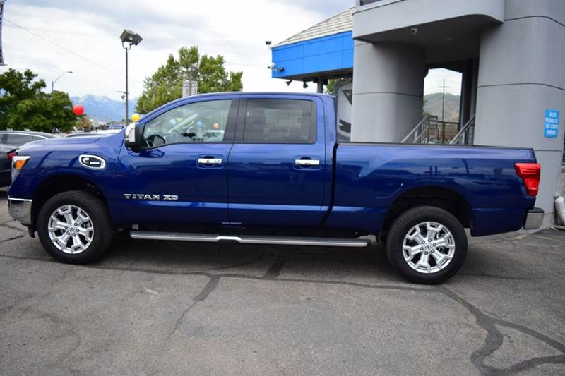 2016 nissan titan xd sl 4x4 4dr crew cab pickup diesel in salt lake city ut specialized. Black Bedroom Furniture Sets. Home Design Ideas
