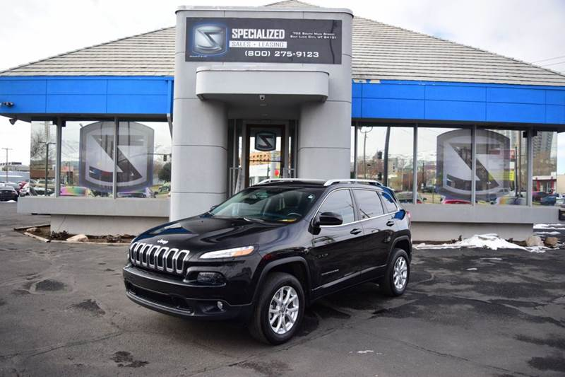2015 jeep cherokee latitude 4x4 4dr suv in salt lake city ut specialized sales leasing. Black Bedroom Furniture Sets. Home Design Ideas