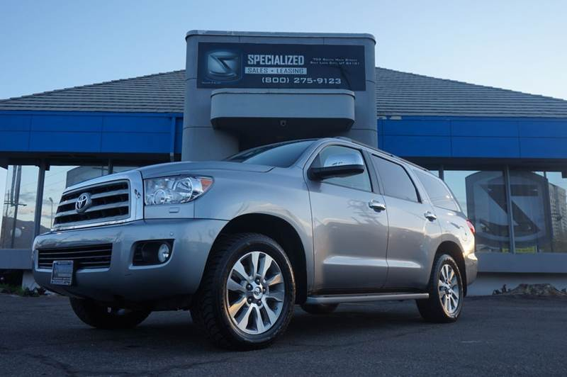 2012 toyota sequoia limited 4x4 4dr suv 5 7l v8 in salt lake city ut specialized sales leasing. Black Bedroom Furniture Sets. Home Design Ideas